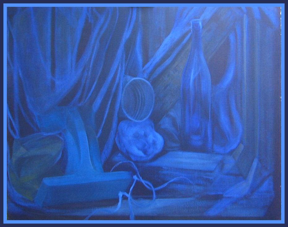 4. Compositie In Blauw