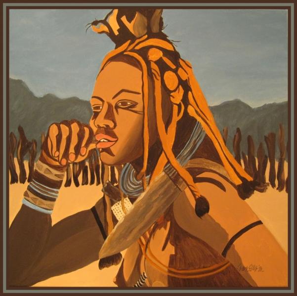 94. Himba Meisje